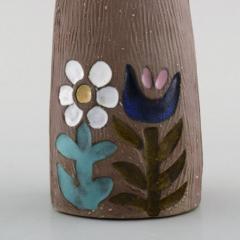 Upsala Ekeby Figurine of girl in glazed stoneware - 1348791