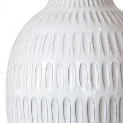Upsala Ekeby Large Table Lamp with Gouged Design by Anna Lisa Thomson - 1940692