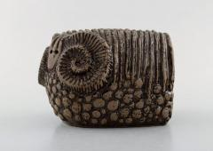 Upsala Ekeby Ram in glazed stoneware - 1348846