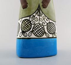 Upsala Ekeby Rare MARI SIMMULSON figure of woman ceramics Upsala Ekeby - 1221733