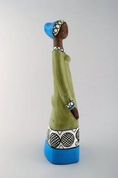 Upsala Ekeby Rare MARI SIMMULSON figure of woman ceramics Upsala Ekeby - 1221735