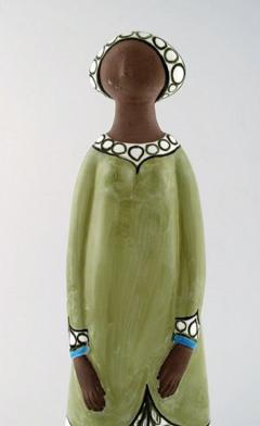 Upsala Ekeby Rare MARI SIMMULSON figure of woman ceramics Upsala Ekeby - 1221737