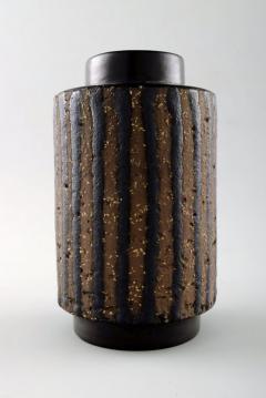 Upsala Ekeby Ringo ceramic vase - 1355750