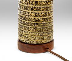 Upsala Ekeby Upsala Ekeby Swedish Stoneware Lamp Signed and Labeled - 1084369
