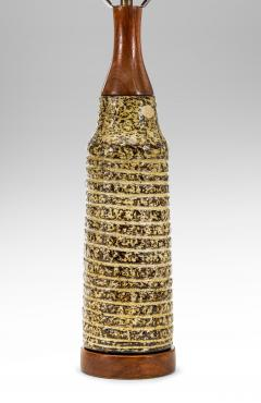 Upsala Ekeby Upsala Ekeby Swedish Stoneware Lamp Signed and Labeled - 1084371