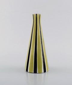 Upsala Ekeby Vase in glazed stoneware with striped decoration - 1348807