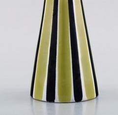 Upsala Ekeby Vase in glazed stoneware with striped decoration - 1348808
