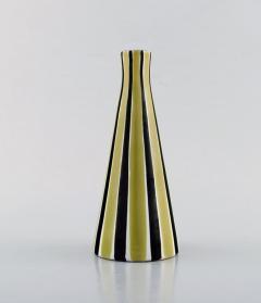 Upsala Ekeby Vase in glazed stoneware with striped decoration - 1348810