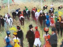 Urbain Huchet The Horse Race  - 1474791