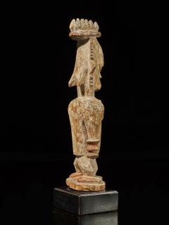 Urhubo People Nigeria Family Ancestor Statue with rests of Kaolin  - 1980770