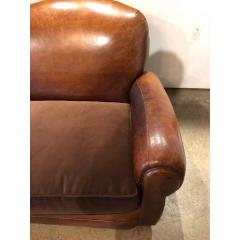 VINTAGE LEATHER CLUB SOFA - 1046559