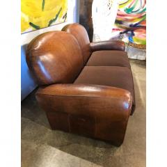 VINTAGE LEATHER CLUB SOFA - 1046561