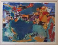 Vaclav Vytlacil Blue Green Abstraction - 360307