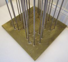 Val Bertoia Array of Steel Rods with Brass Chimes  - 947067