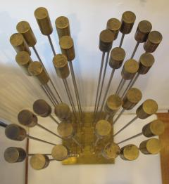 Val Bertoia Array of Steel Rods with Brass Chimes  - 947068