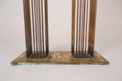 Val Bertoia Brass and Beryllium Copper Sonambinet Sounding Sculpture by Val Bertoia - 801200