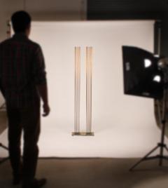 Val Bertoia Brass and Beryllium Copper Sonambinet Sounding Sculpture by Val Bertoia - 801202