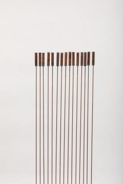 Val Bertoia Large Val Bertoia 15 Rod Curve of Sounding Cat Tails Sculpture 2016 - 1181383