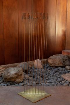 Val Bertoia Large Val Bertoia 15 Rod Curve of Sounding Cat Tails Sculpture 2016 - 1181392