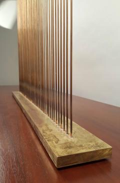 Val Bertoia Large Val Bertoia Sonambient Bronze and Copper Sound Sculpture - 481070