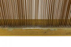 Val Bertoia Linear Four Row Copper and Brass Sonambient Sculpture - 1223951