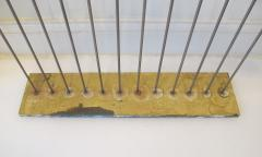 Val Bertoia Steel Rods with Brass Cylinder Chimes  - 947044