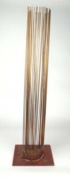 Val Bertoia Val Bertoia s Copper Rods Openning Sounds - 1262021