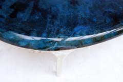 Valentin Loellmann Blue Brass Coffee Table - 1018915