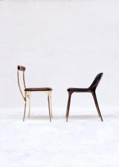 Valentin Loellmann Brass Black Chair - 1018928