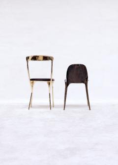 Valentin Loellmann Brass Black Chair - 1018929
