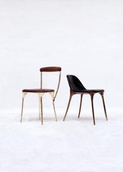 Valentin Loellmann Brass Black Chair - 1018930