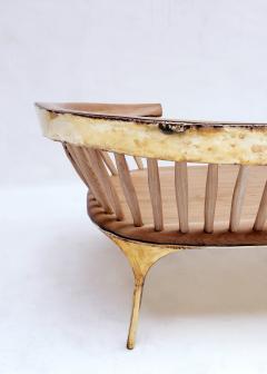 Valentin Loellmann Brass Lounge Chair - 1016914