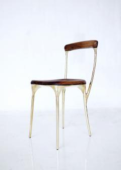 Valentin Loellmann Brass chair - 1594710