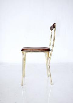 Valentin Loellmann Brass chair - 1594711