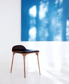 Valentin Loellmann Copper stool - 1262225