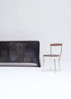 Valentin Loellmann Patinated Brass Sideboard - 1683260