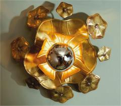 Valerie Wade Large single Lotus flower wall light - 827543