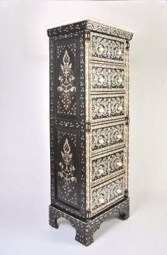 Valerie Wade Mother of pearl inlay tall boy - 743468