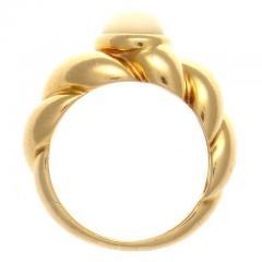 Van Cleef Arpels Moonstone Gold Ring - 390694