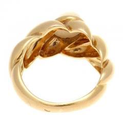 Van Cleef Arpels Moonstone Gold Ring - 390695