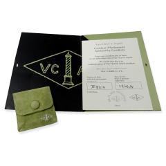 Van Cleef Arpels Toujours Mens Wedding Band in Platinum - 1298839