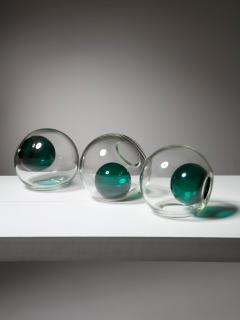 VeArt Set of 5 Blown Murano Glass Centerpieces by VeArt - 1198957