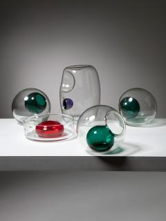 VeArt Set of 5 Blown Murano Glass Centerpieces by VeArt - 1198959