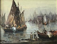 Venetians Painting by J R Stoler - 2132778