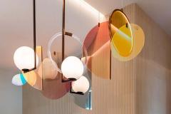Vera Edith Dieckmann Monumental Glass Colorful Light Installation by Vera Dieckmann - 1474977