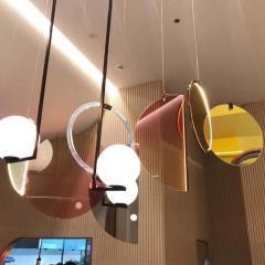 Vera Edith Dieckmann Monumental Glass Colorful Light Installation by Vera Dieckmann - 1474980