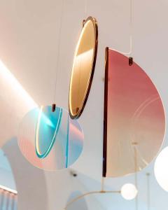 Vera Edith Dieckmann Monumental Glass Colorful Light Installation by Vera Dieckmann - 1474981