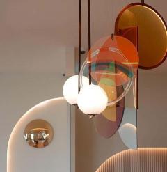 Vera Edith Dieckmann Monumental Glass Colorful Light Installation by Vera Dieckmann - 1474982