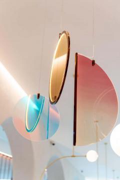 Vera Edith Dieckmann Monumental Glass Colorful Light Installation by Vera Dieckmann - 1474984