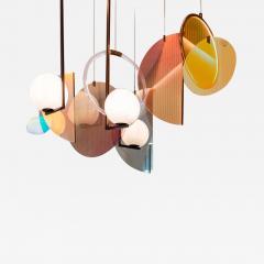 Vera Edith Dieckmann Monumental Glass Colorful Light Installation by Vera Dieckmann - 1476153